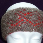 qiviut headband with fleece lining