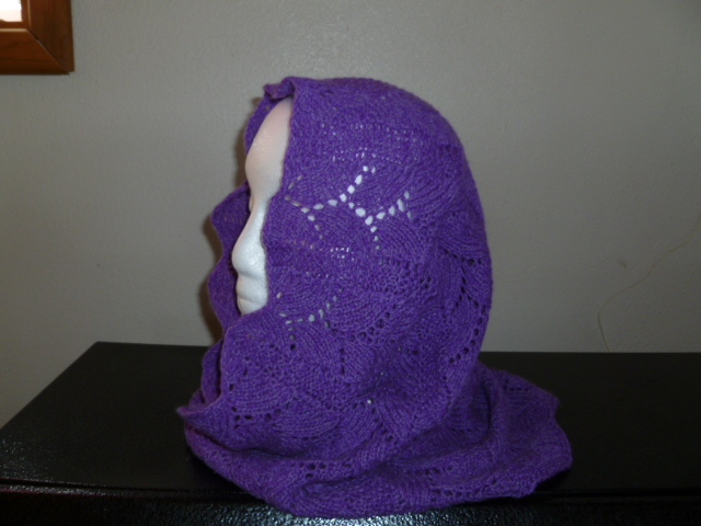 cashmere head scarf